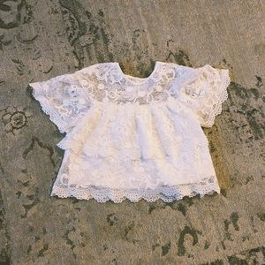 Barney's New York Lace Blouse
